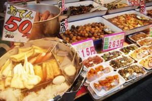 ロック・フィールドで朝食販売開始!!ついで買いを促す。